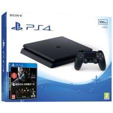 Sony Playstation 4 Slim 500Gb + Mortal Kombat XL (русская версия)