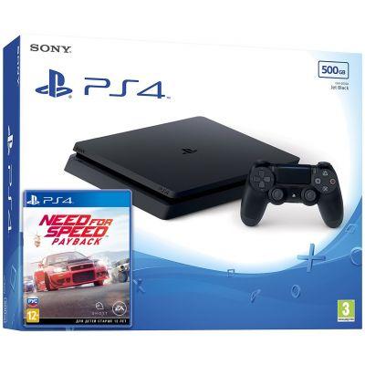 Sony Playstation 4 Slim 500Gb + Need for Speed Payback (русская версия)