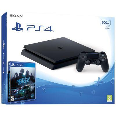 Sony Playstation 4 Slim 500Gb + Need for Speed (русская версия)