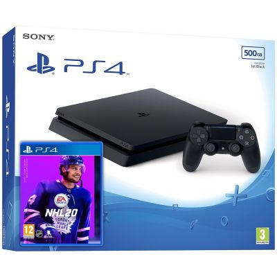 Sony Playstation 4 Slim 500Gb + NHL 20 (русская версия)