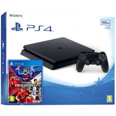 Sony Playstation 4 Slim 500Gb + Pro Evolution Soccer 2020 (eFootball) (русская версия)