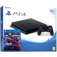 Sony Playstation 4 Slim 500Gb + PES 2018 (русская версия)
