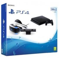 Sony Playstation 4 Slim 500Gb + PlayStation VR + Камера