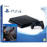 Sony Playstation 4 Slim 500Gb + Sekiro: Shadows Die Twice (русская версия)
