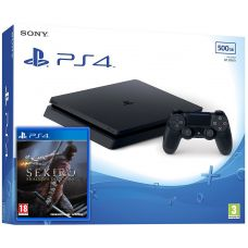 Sony Playstation 4 Slim 500Gb + Sekiro: Shadows Die Twice (русская версия)