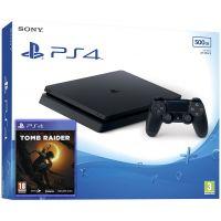 Sony Playstation 4 Slim 500Gb + Shadow of the Tomb Raider (русская версия)