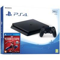 Sony Playstation 4 Slim 500Gb + Spider-Man (русская версия)