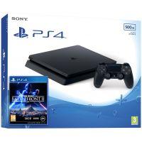 Sony Playstation 4 Slim 500Gb + Star Wars: Battlefront II (русская версия)