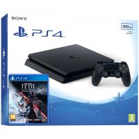 Sony Playstation 4 Slim 500Gb + Star Wars Jedi: Fallen Order (русская версия)