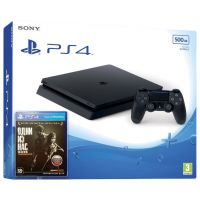 Sony Playstation 4 Slim 500Gb + The Last of Us (русская версия)