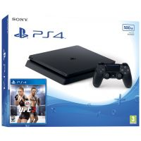 Sony Playstation 4 Slim 500Gb + UFC 2
