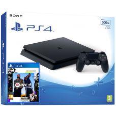 Sony Playstation 4 Slim 500Gb + UFC 4 (русская версия)