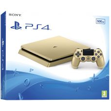 Sony Playstation 4 Slim 500Gb Gold