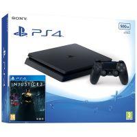 Sony Playstation 4 Slim 500Gb + Injustice 2 (русская версия)