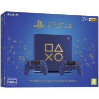 Sony Playstation 4 Slim 500Gb Limited Edition Days of Play Blue