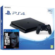 Sony Playstation 4 Slim 500Gb + The Last of Us Part II (русская версия)