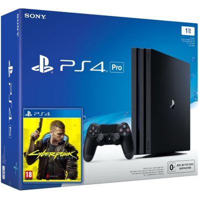 Sony Playstation 4 PRO 1Tb + Cyberpunk 2077 (русская версия)