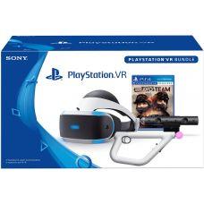 PlayStation VR + Камера + Aim Controller + Игра Bravo Team