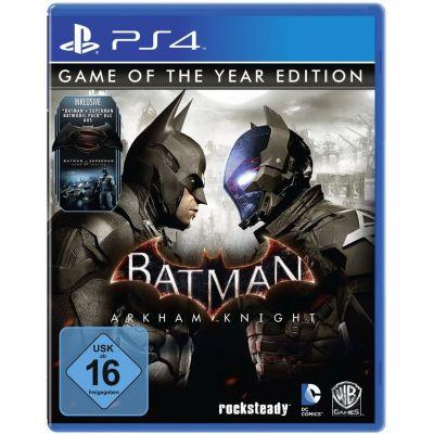 Batman: Arkham Knight. Game of the Year Edition (русская версия) (PS4)