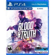 Blood & Truth/ Кровь и истина VR (английская версия) (PS4)