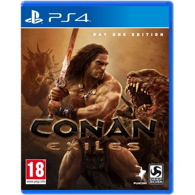 Conan Exiles Day One Edition (русская версия) (PS4)