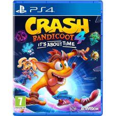 Crash Bandicoot 4: It's About Time (русская версия) (PS4)