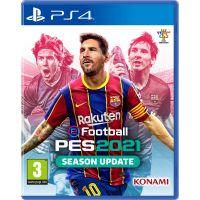 eFootball Pro Evolution Soccer 2021 (русская версия) (PS4)