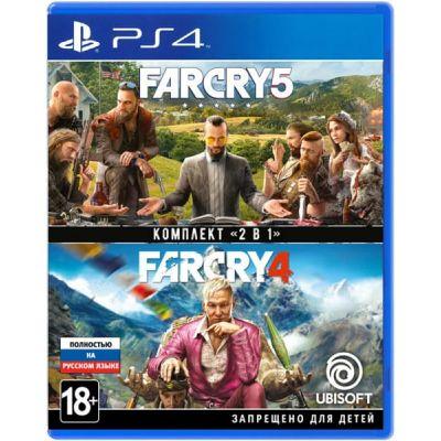 Far Cry 4 + Far Cry 5 (русская версия) (PS4)