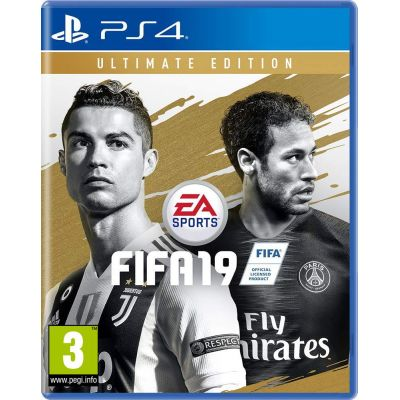 FIFA 19 Ultimate Edition (русская версия) (PS4)