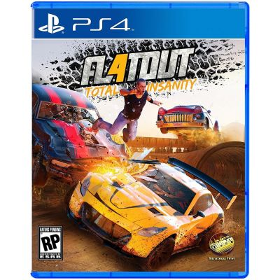 Flatout 4: Total Insanity (русская версия) (PS4)