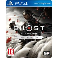 Ghost of Tsushima Special Edition (русская версия) (PS4)