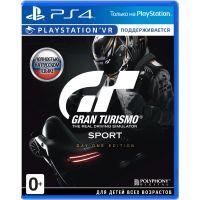 Gran Turismo Sport. Day One Edition (русская версия) (PS4)