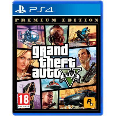 GTA V Premium Edition (русская версия) (PS4)