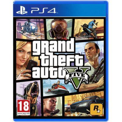 GTA V (русская версия) (PS4)