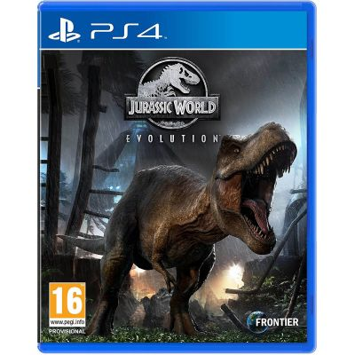 Jurassic World Evolution (русская версия) (PS4)