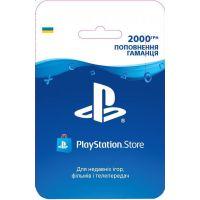 Playstation Store пополнение кошелька: Карта оплаты 2000 грн