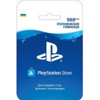 Playstation Store пополнение кошелька: Карта оплаты 500 грн