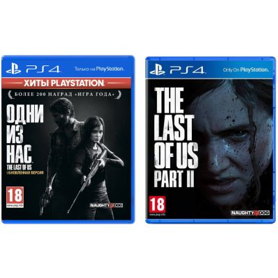 The Last of Us + The Last of Us Part II (русская версия) (PS4)