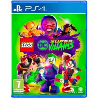 Lego DC Super-Villains (русская версия) (PS4)