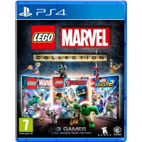 Lego Marvel Collection (русская версия) (PS4)