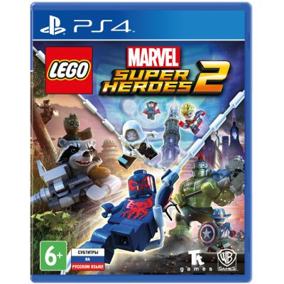 LEGO: Marvel Super Heroes 2 (русская версия) (PS4)