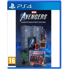Marvel's Avengers Earth's Mightiest Edition (русская версия) (PS4)