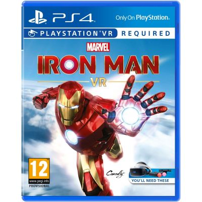 Marvel's Iron Man VR (русская версия) (PS4)
