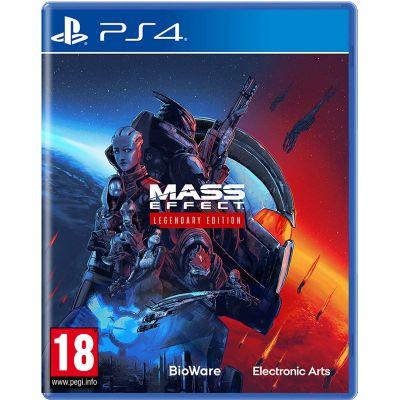 Mass Effect Legendary Edition (русская версия) (PS4)