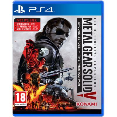 Metal Gear Solid V: The Definitive Experience (русская версия) (PS4)