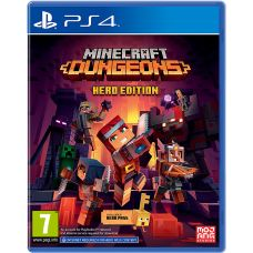 Minecraft Dungeons: Hero Edition (русская версия) (PS4)