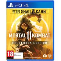 Mortal Kombat 11 Steelbook Edition (русская версия) (PS4)