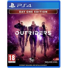 Outriders. Day One Edition (русская версия) (PS4)