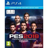 Pro Evolution Soccer 2018 Legendary Edition (русская версия) (PS4)
