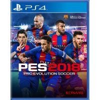 Pro Evolution Soccer 2018 (русская версия) (PS4)
